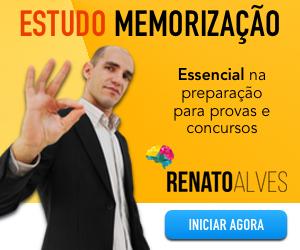 Curso Estudo e memorização Renato Alves Melhores Cursos Online para Concursos