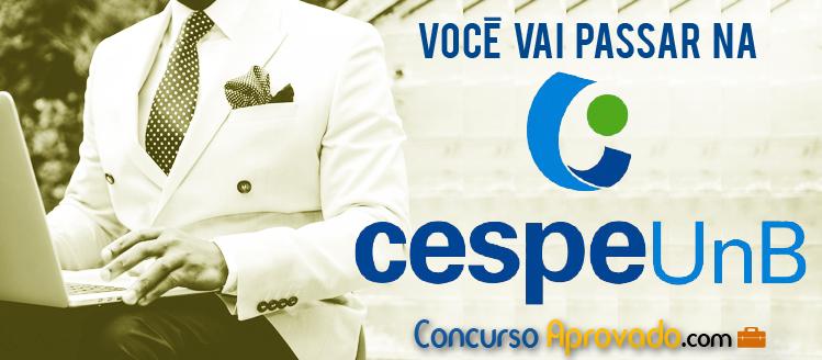 Você vai passar na Cespe! Aprenda todo so segredos da Cespe UNB - ConcursoAprovado.com Cespe Concursos