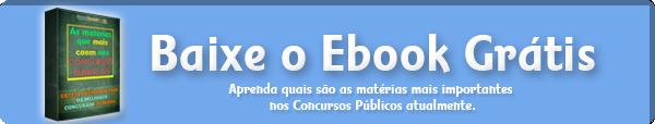 Botão Download Ebook o que cai em concurso público